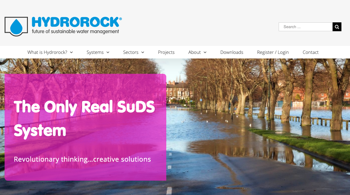 Hydrorock website