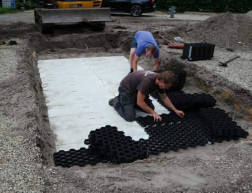 Large Car Park project – Preventing against stormwater and heavy rainfall flooding