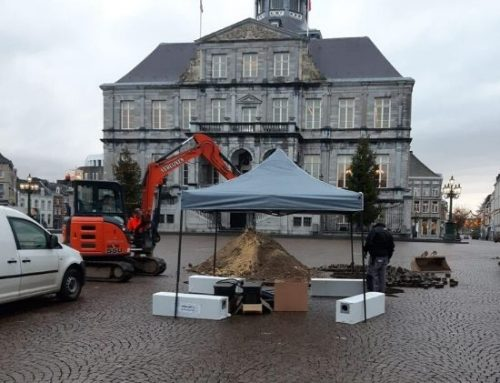 Maastricht Market – Efficient drainage and infiltration within the confines of the busy site